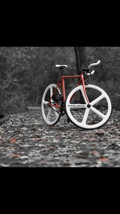 Wabi bike with Encore Wheels
