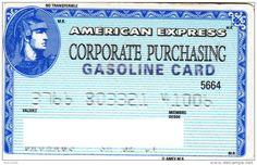 American Express | Corporate Purchasing Gasoline Card