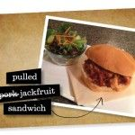 vegan pulled 'pork' sandwich – for realz  Looks interesting!!