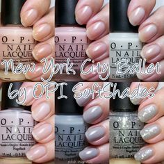 OPI SoftShades 2012  Want them ALL! NYCB collex