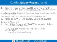 Renub Research Report Titled Swot Analysis Sales Forecast Of
