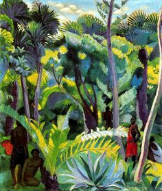 Vazquez Diaz, Daniel (1882-1969) - 1927 Rainforest