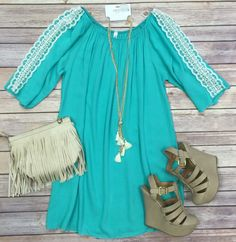 It Won't Be Long Tunic Dress