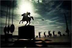 Statue of Alexander the Great #Thessaloniki #Salonica #Greece