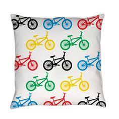 BMX Bikes Everyday Pillow on CafePress.com