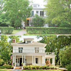 20 Home Exterior Makeovers with Before/After Pics! This southern craftsman is fe… 20 Home Exterior Makeovers with Before/After Pics! This southern craftsman is featured on Southern Living. Home Exterior Makeover, Exterior Remodel, Exterior Paint, Exterior Design, Home Renovation, Home Remodeling, Kitchen Remodeling, Pintura Exterior, Makeover Before And After