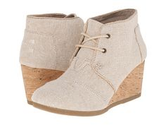 242f412df50 TOMS Desert Wedge Taupe Suede - Zappos.com Free Shipping BOTH Ways Ankle  Bootie