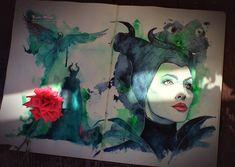 Maleficent by Kinko-White on deviantART
