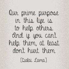 Karma is what we put into the universe, good or bad. I seek to help others every day not for reward but because I truly care.