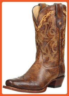 Tony Lama Women's Bark Santa Fe VF6004 Boot,Bark Santa,8 B US - Boots for women (*Amazon Partner-Link)