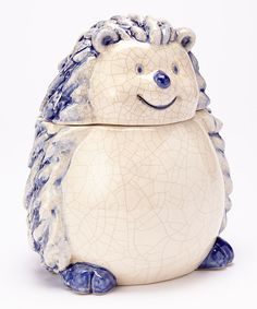 Take a look at the Housewares International Blue Hedgehog Cookie Jar on #zulily today!