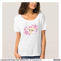 sugarparade Usagi-chan Sakura Flowy T-Shirt