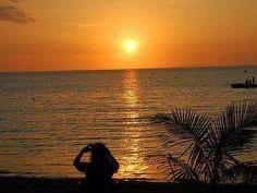 "Sunset from Casa ""Garbarito."