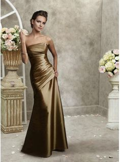 bridesmaid dress definitely not the color but I love the style
