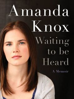 Read half of this in Antigua last week- listened to the other half when I got home.  At the end I realized Amanda Knox is the one who narrated it.  Def worth reading. Completed 11/3/2013.
