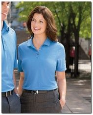 $44.54 > Ashworth 1290C Ladies Performance Wicking Pique Polo - Available Colors: 5, Size Range: S - 2XL