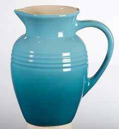Le Creuset Stoneware 2-Quart Pitcher, Caribbean * You can find out more details at the link of the image.