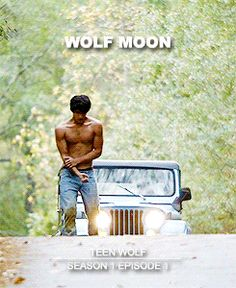 Teen Wolf Posters Season One: Wolf Moon  You've been given something that most people would kill for. The bite is a gift.  gif