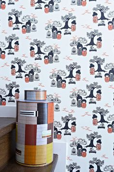 Kokeshi wallpaper