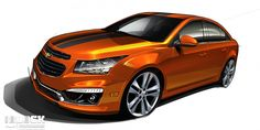 2015 Chevrolet Cruze RS and Sonic Hatchback Performance and Accessories Concepts