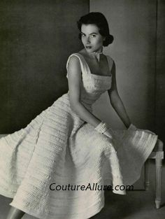 Couture Allure Vintage Fashion: How to Find the Vintage 1950s Wedding Dress of Your Dreams