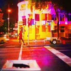 Lady in REDlight district
