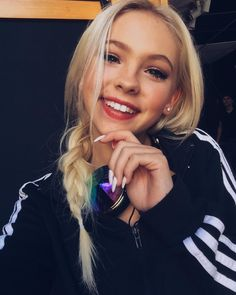 """going live in an hour on the app @oncam during my music video shoot for """"Already Know"""" in NYC.. follow me at @jordynjones1 to watch!"""
