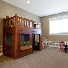 Kids Clubhouse Beds Design, Pictures, Remodel, Decor and Ideas - page 4