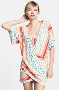 MISSONI MARE Zigzag Knit Cover-Up available at #Nordstrom