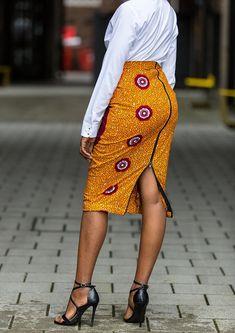 Ankara Pencil Skirt, African print pencil skirt, pencil skirt