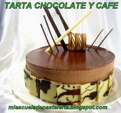 mi escuela de pastelería: TARTA DE CHOCOLATE Y CAFE