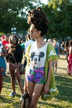 AfroPunk 2013 Festival Style Photos.. So sad AfroPunkFest ATL was cancelled this year