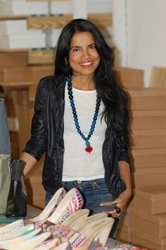 Monisha Raja, Founder of Eco + Vegan Footwear Label Love Is Mighty {loveismighty.com}