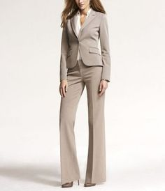 Collection Cream Pants Suit Pictures - Klarosa