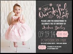 See a coupon for these invitations: http://obeythekitty.com/stores/tiny-prints-coupons/  The best personalized first birthday party invitations with a photo are at Tiny Prints. Get a coupon above for up to a 25% discount