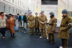 Army Uniforms Romanian Revolution, Timisoara Romania, Army Uniform, Capital City, Costume Design, Canada Goose Jackets, Rock And Roll, Presidents, The Past