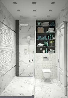"""Душевая комната """"for dad"""": modern Bathroom by СТУДИЯ 'ДА' ДАРЬИ АРХИПОВОЙ"""