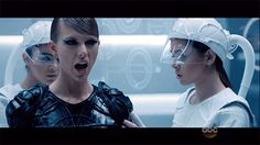 "taylor swift bad blood gifs | Taylor Swift ""Bad Blood"" Video GIFs - The Hollywood Gossip"