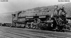 Erie Railroad 3334, Class S-2, was built by Lima in September 1927, #7261.  It was sold for scrap in October 1952.