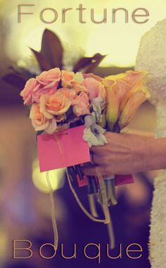 Great idea for a non-traditional wedding bouquet! Wedding Wednesday: Tosses with a Twist