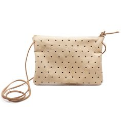 All the charm and style of a Pine + Boon punch pouch with a little more room for all your goodies.