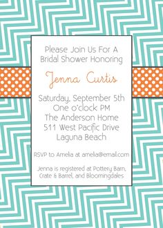 Baby Shower/ Adoption Shower Invitations-