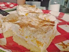 Fanta cake with Mandarin cream Vanilla Cake, Bakery, Deserts, Food And Drink, Pie, Sweets, Cooking, Strudel, Facebook