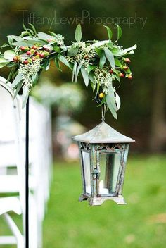 Classic Rustic Aisle Markers Barn Fall Garden Outdoor Ceremony Spring Summer Wedding Ceremony Photos & Pictures - WeddingWire.com