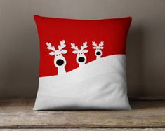 Christmas Decorations Christmas Pillow Covers by wfrancisdesign