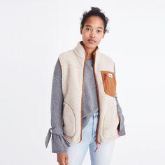 Madewell x Penfield® Mattawa Fleece Vest— size XS