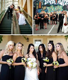 creative wedding portraits | Photo Inspiration: Creative Wedding Party Photos - Exquisite Weddings