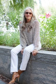 Youth is wonderful while it lasts, but the older we get, the more we get a not-so-sneaking suspicion that life just gets better as it goes on. Then we met Cindy Joseph, a 63-year-old model whose joie de vivre is nothing short of inspiring —and our theory was proven correct. Link to cool article