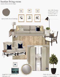 Design Dump Plan Dramatic Neutral Living Room