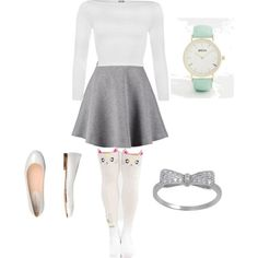 school outfit by paty-porutiu on Polyvore featuring polyvore fashion style WearAll Tiger of Sweden Carlo Pazolini Breda